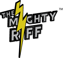 The Mighty Riff Retina Logo